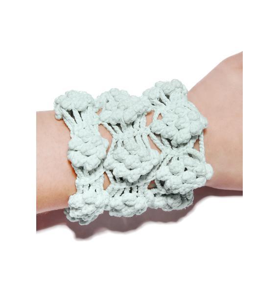 Maria ke Fisherman Gooseberry Crochet Arm Bands