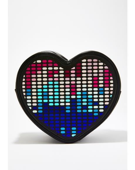Electronic Love Light Up Backpack