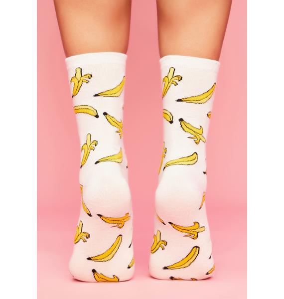 Go Bananas Crew Socks