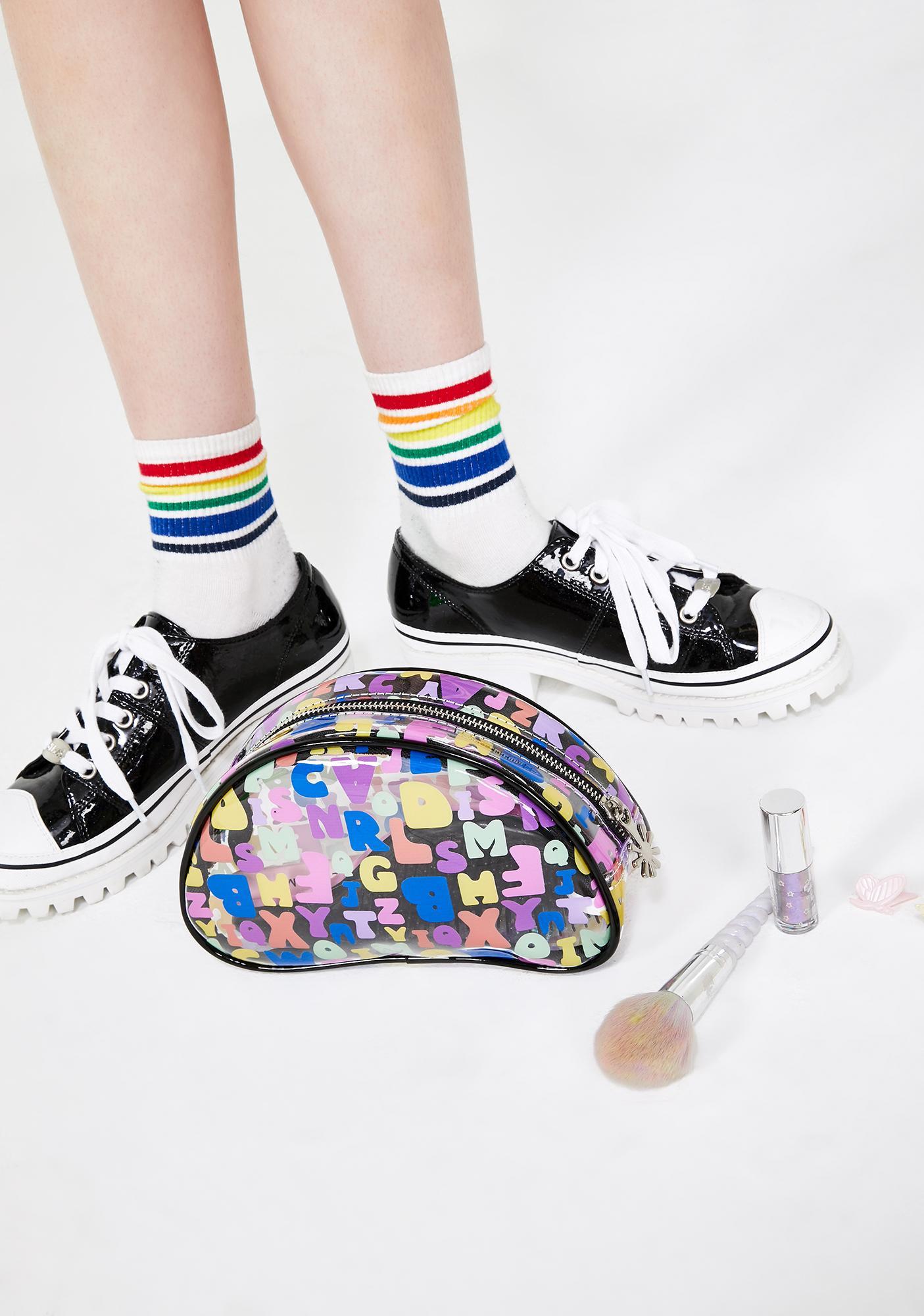 dELiA*s by Dolls Kill Hooked On U Makeup Bag