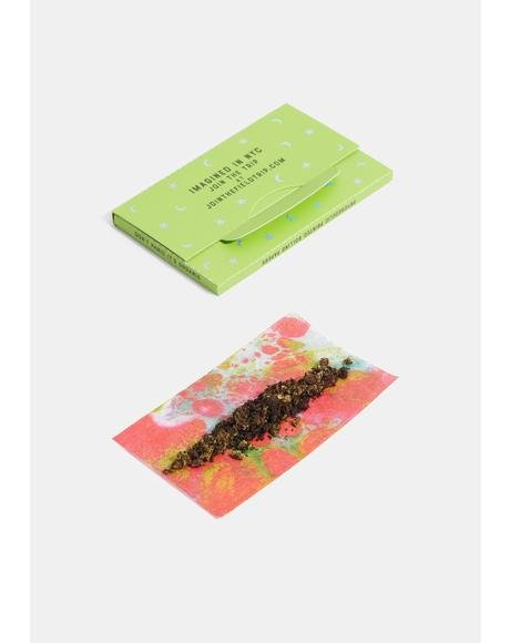 Psychedelic Print Rolling Paper
