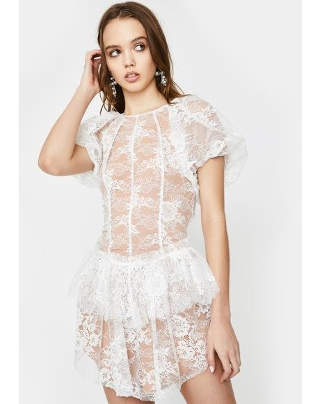 Verbena Lace Mini Dress