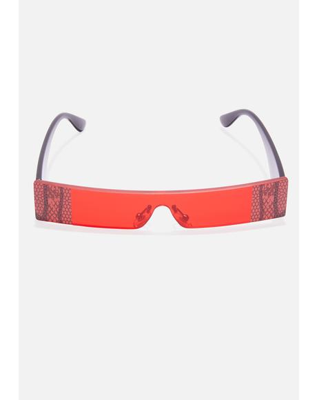Venomous Bite Shield Sunglasses
