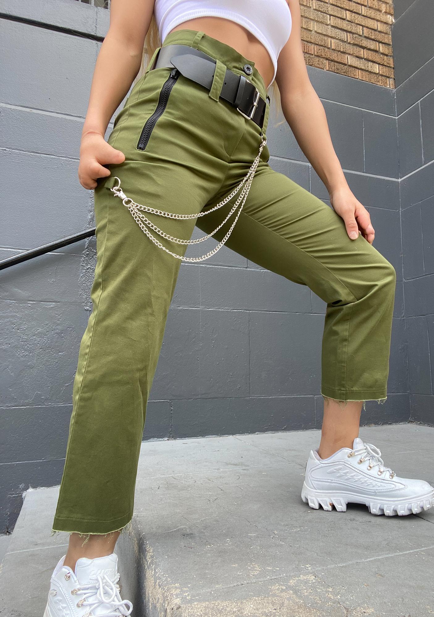 Poster Grl Kush Trap Nightz Chain Trousers