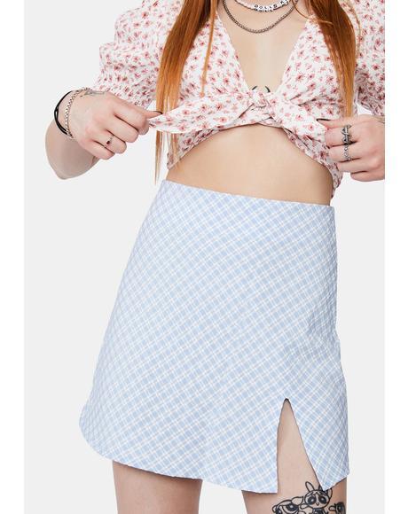 Serving Class Mini Skirt