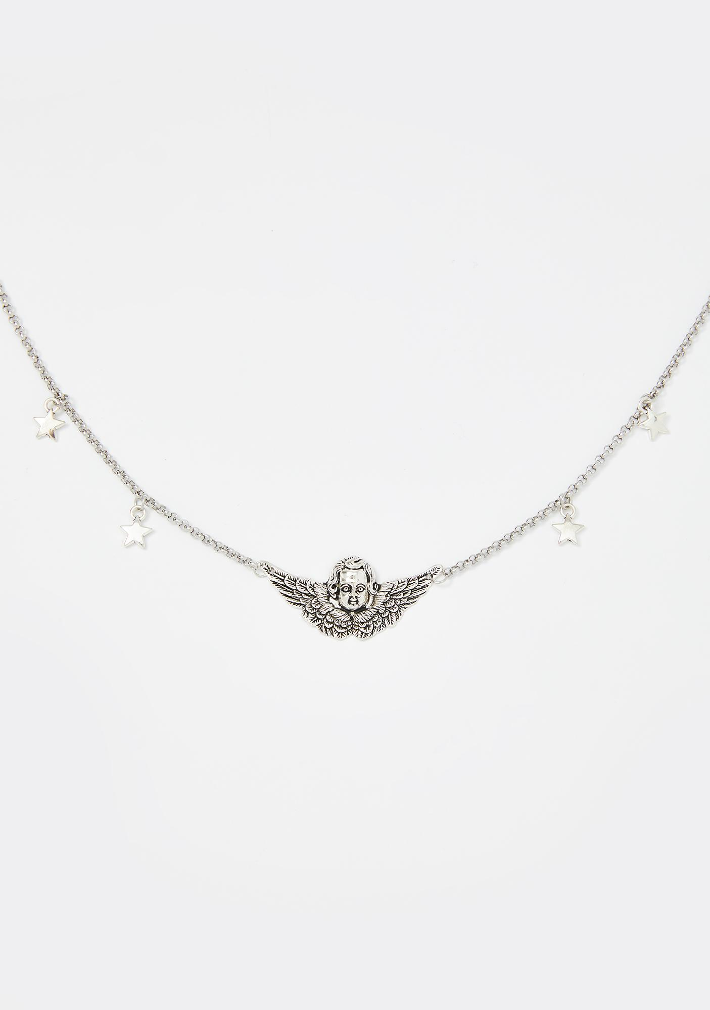 Angel Of Mine Chain Necklace