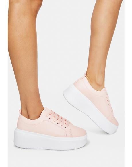 No One Deserves You Platform Sneakers
