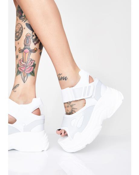 Watch Me Glow Platform Sandals
