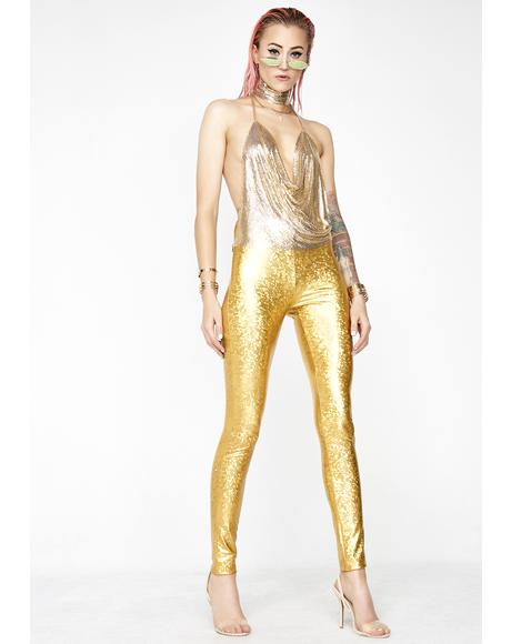 Golden Chose Party Life Leggings