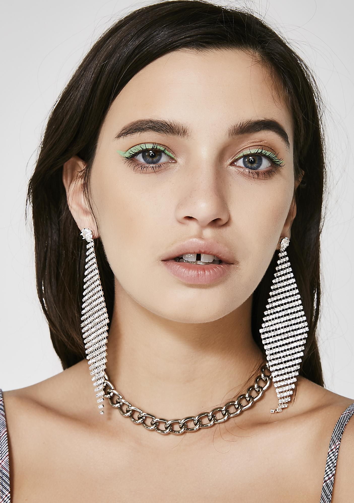 Rich Taste Chain Earrings