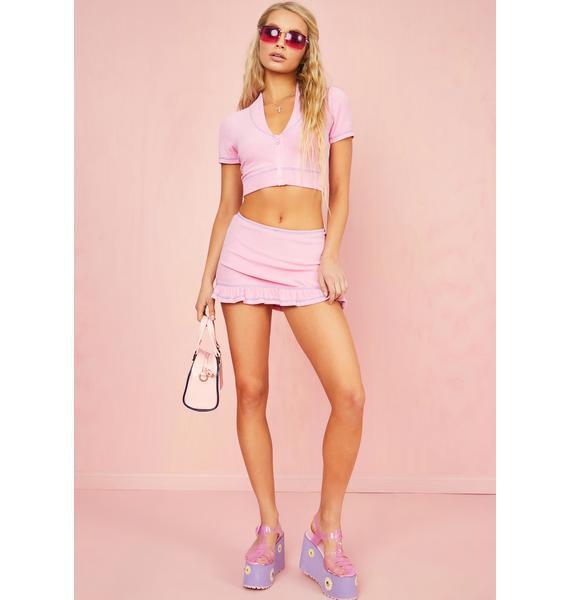 Sugar Thrillz Malibu Baby Mini Skirt