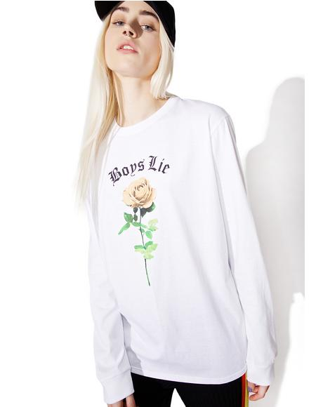 Boys Lie Long Sleeve Tee