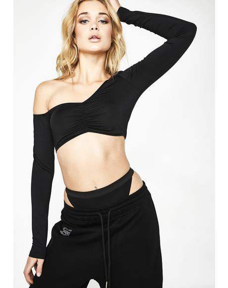 Blessed N' Bougie Crop Top