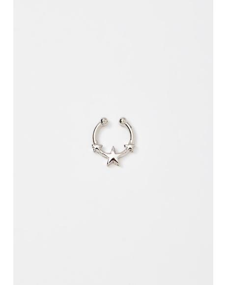 Cosmic Fallout Septum Ring
