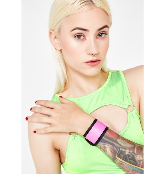 Candy Lite Brite Light Up Snap Bracelet