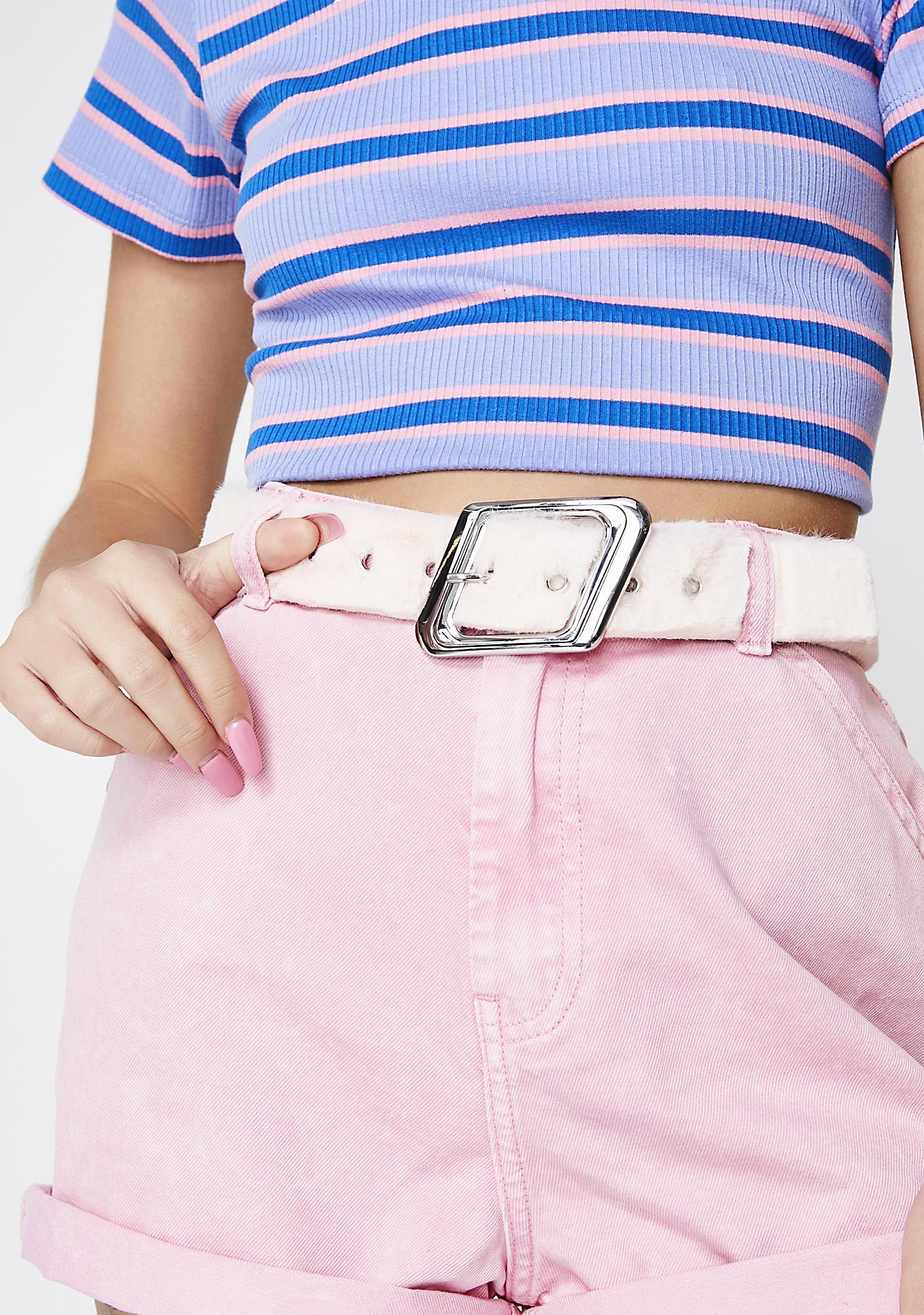 Embrace This Fuzz Belt