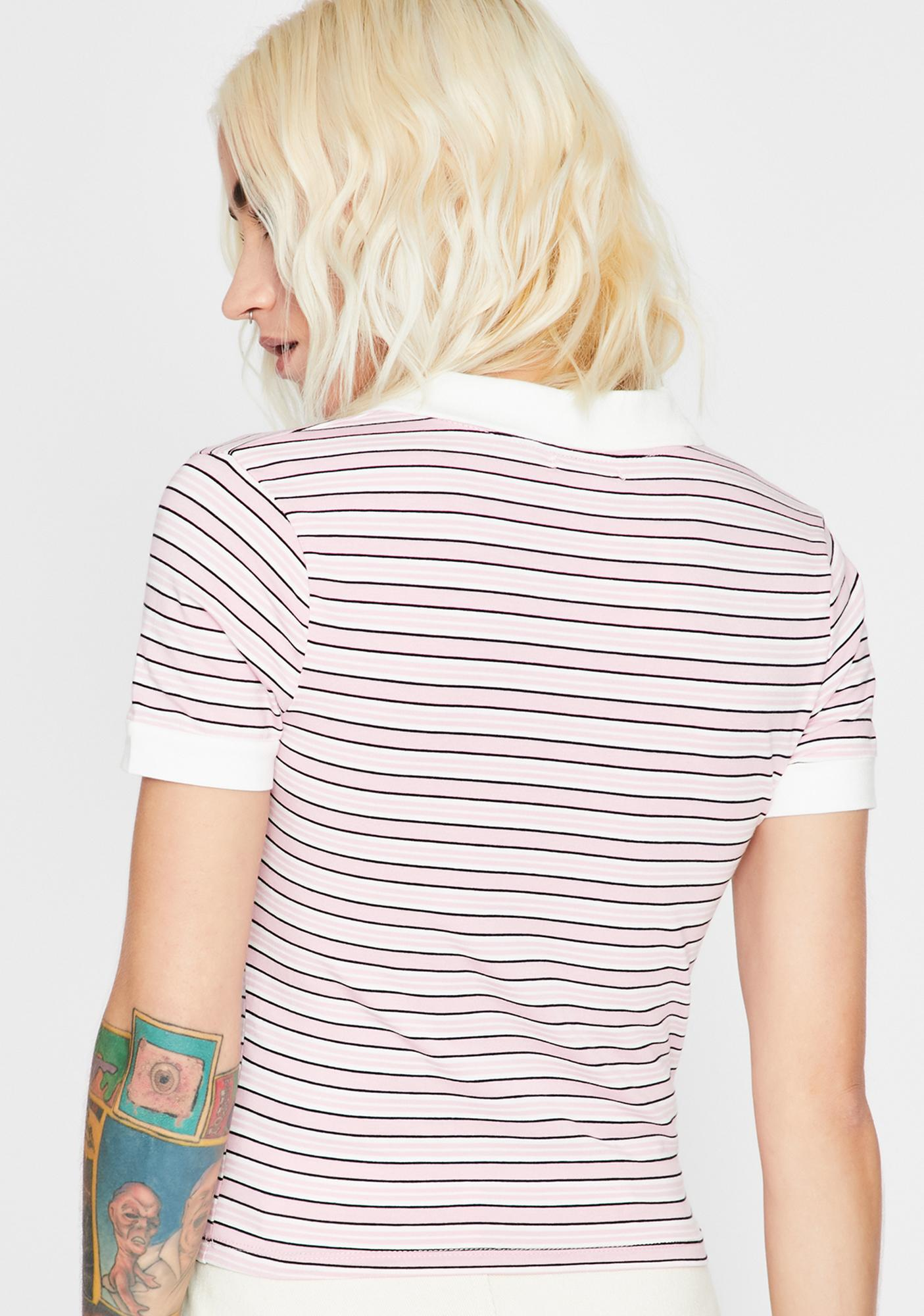 Rose Ditch Day Polo Top