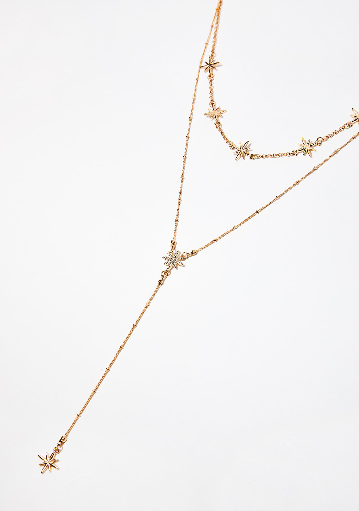 Star Stuck Layered Necklace