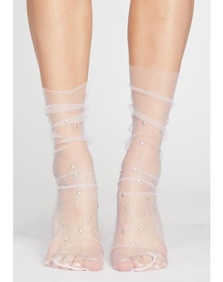 Distant Dream Sparkle Socks