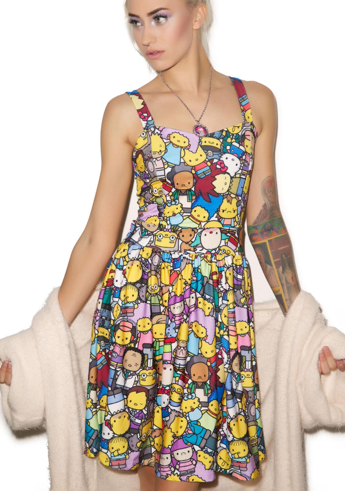 Japan L.A. The Village Party Dress