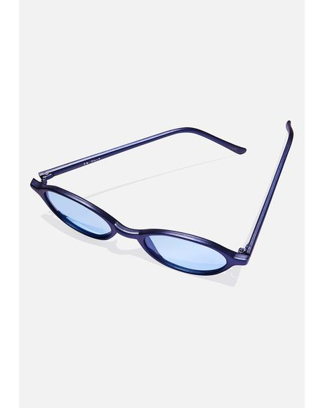 Franklin Round Sunglasses