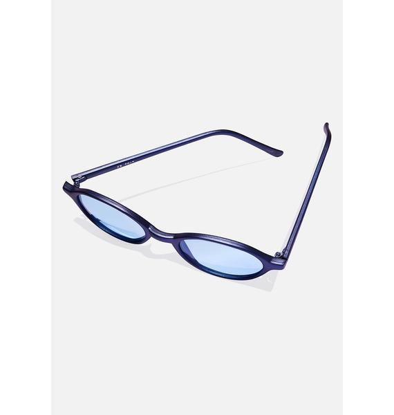Good Times Eyewear Franklin Round Sunglasses