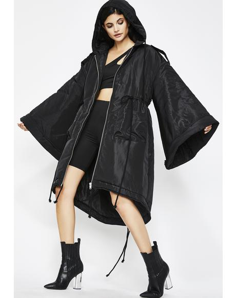Luna Go Flex Hooded Coat