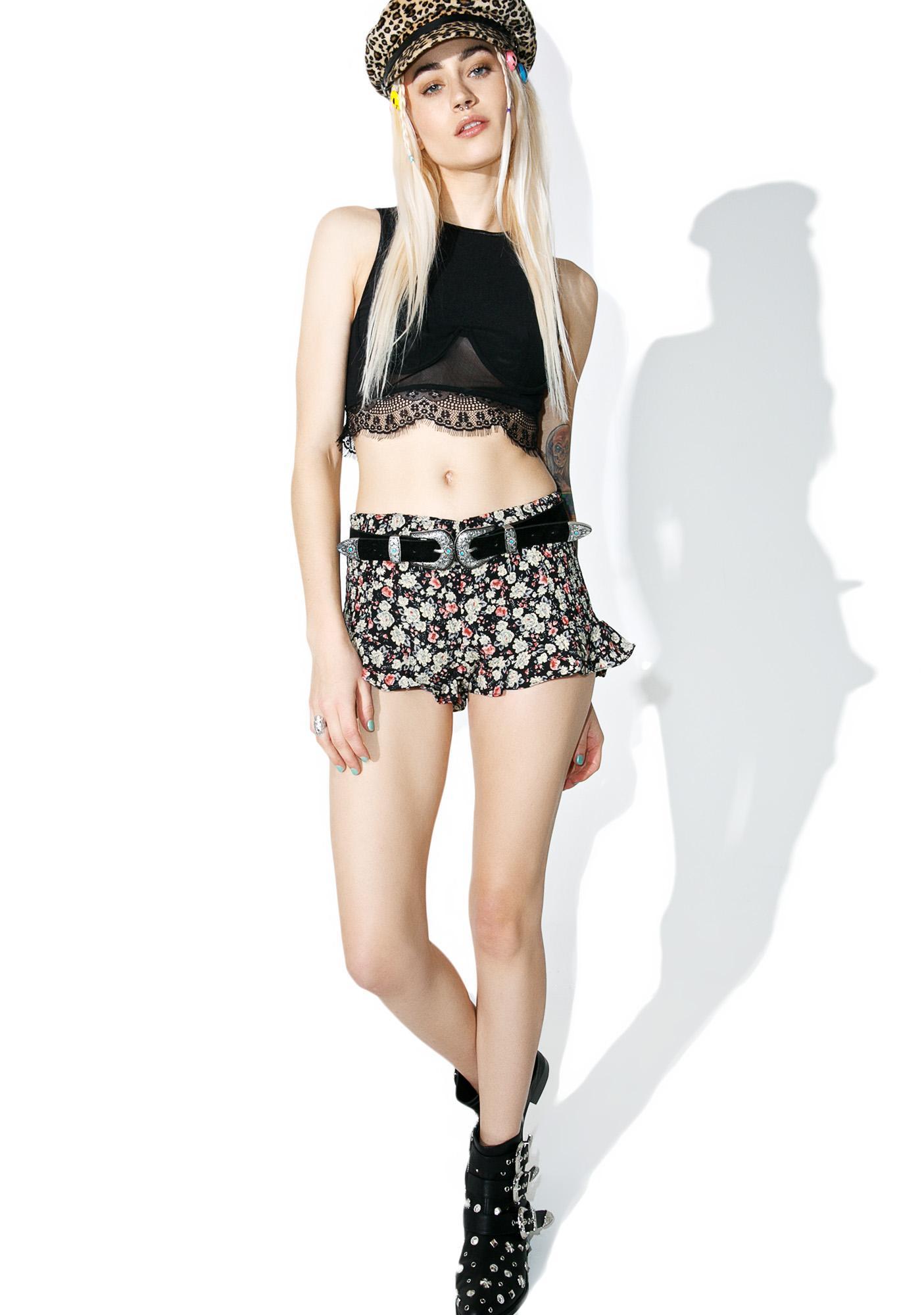Petunia Ruffled Shorts
