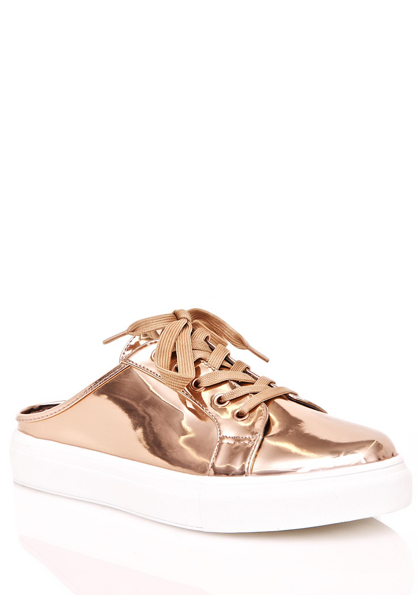 Golden Runaround Slip-On Sneakers