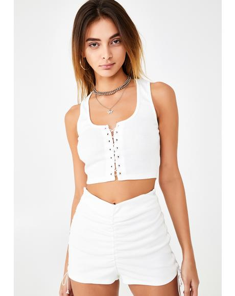 Strings Attached Shorts Set