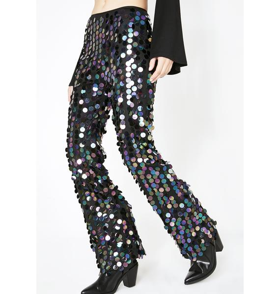 Midnight Moves Sequin Trousers
