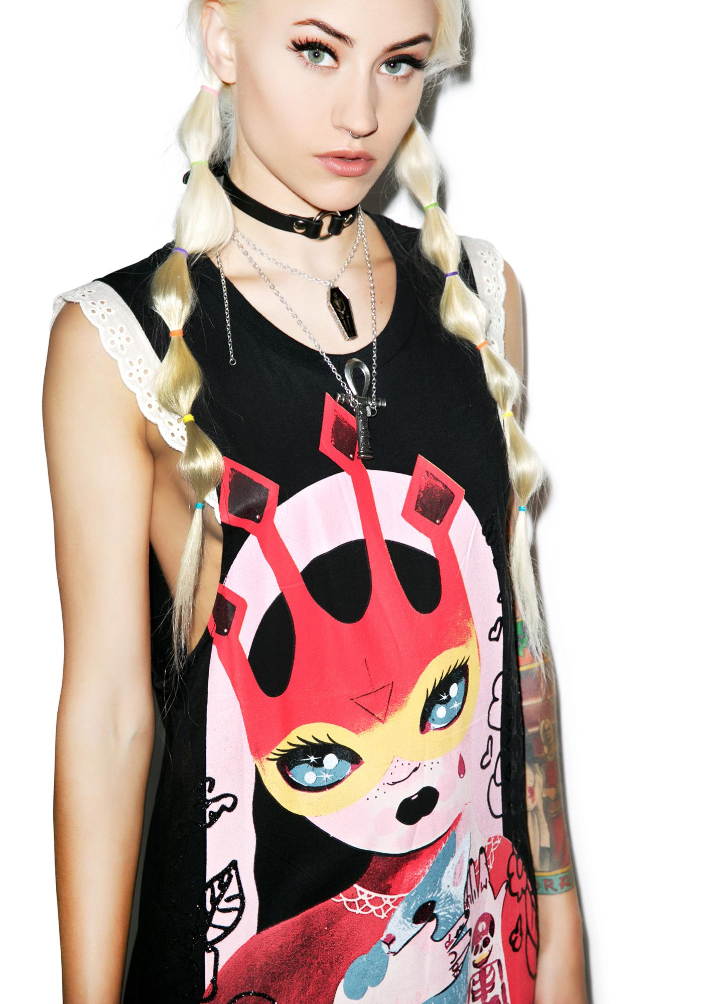 Iron Fist Rosaline Girly Tank