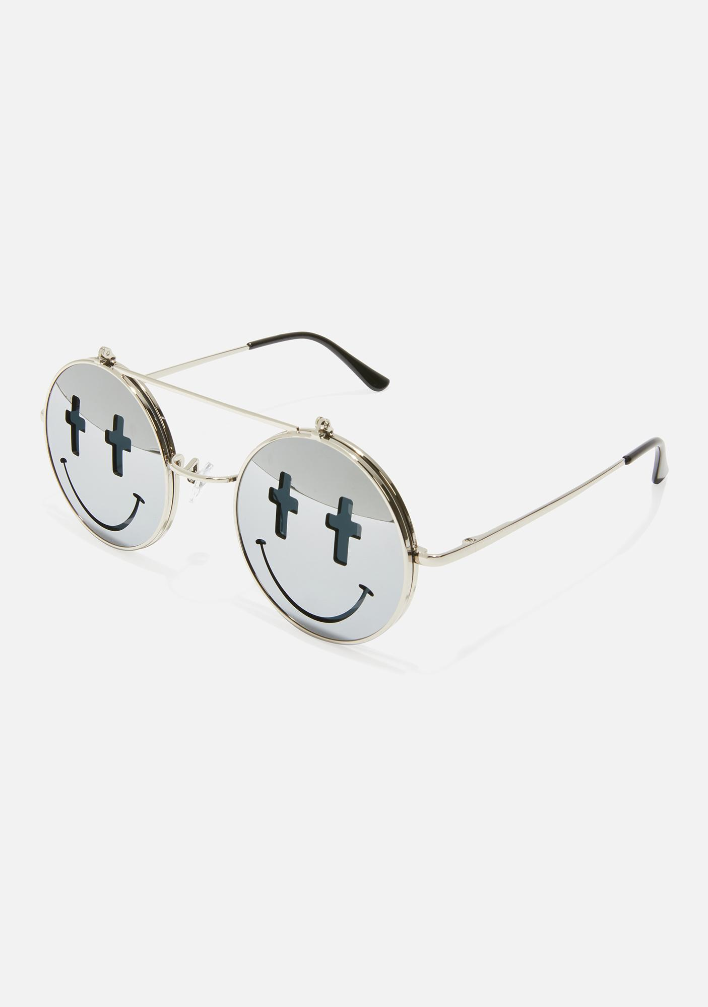 Sacred Visions Circle Sunglasses
