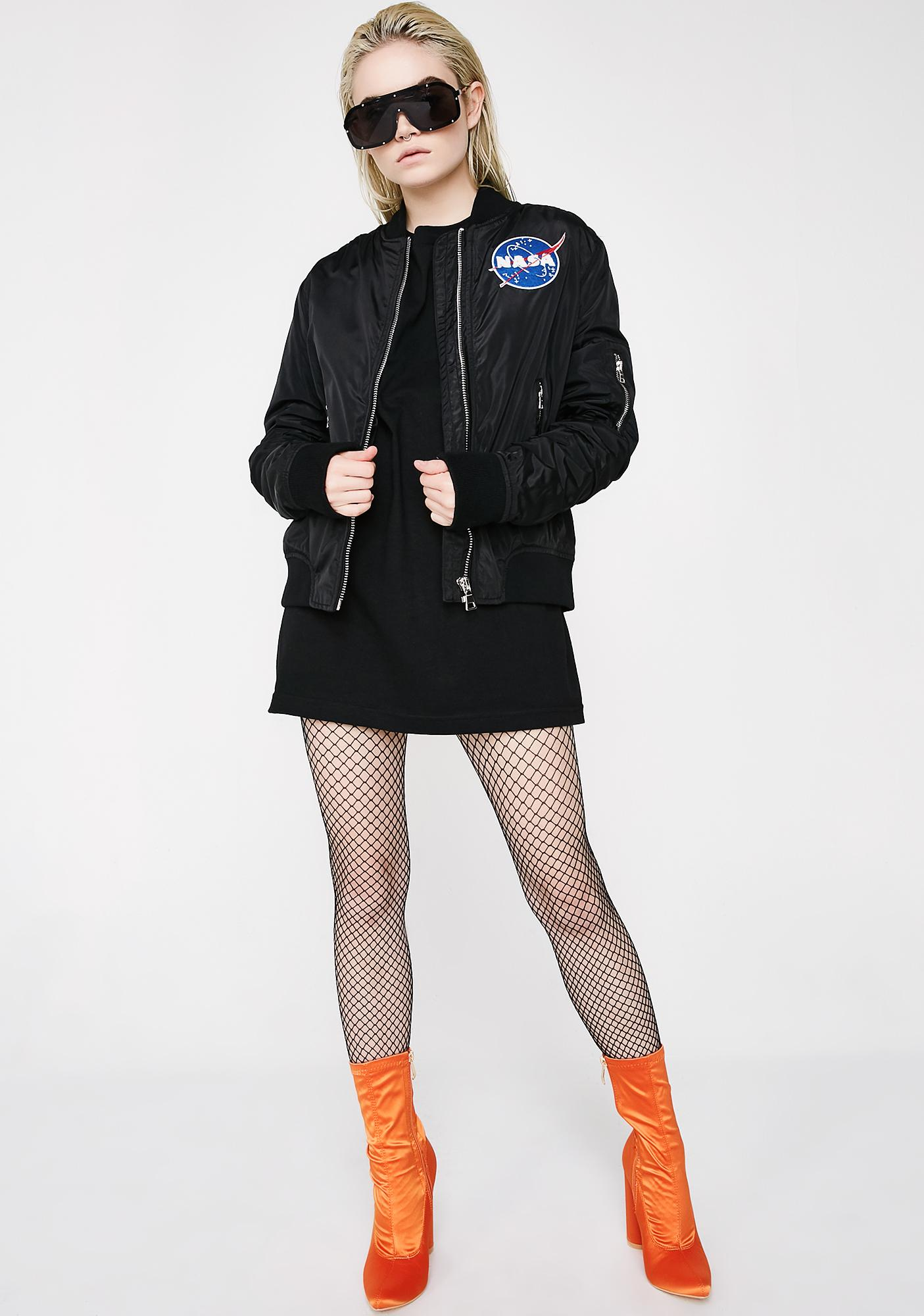 Spacin' Out Bomber Jacket