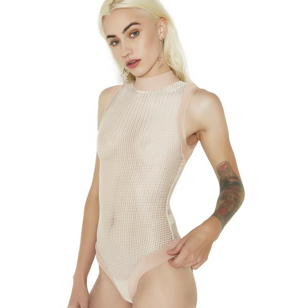 Wishful Thinking Sheer Knit Bodysuit