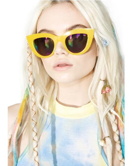 Rainbow Kitti Sunglasses