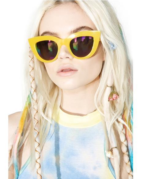 Rainbow Kitti Sunglasses