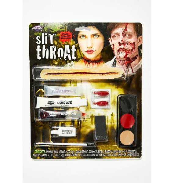 Slittin' Throats Makeup Kit