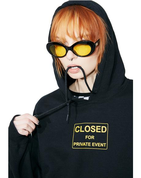 Private Events Pullover Hoodie
