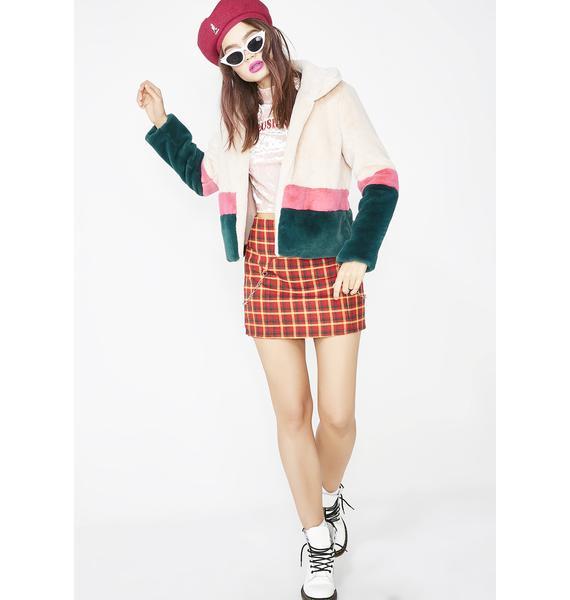 Glamorous Babe Power Fuzzy Jacket