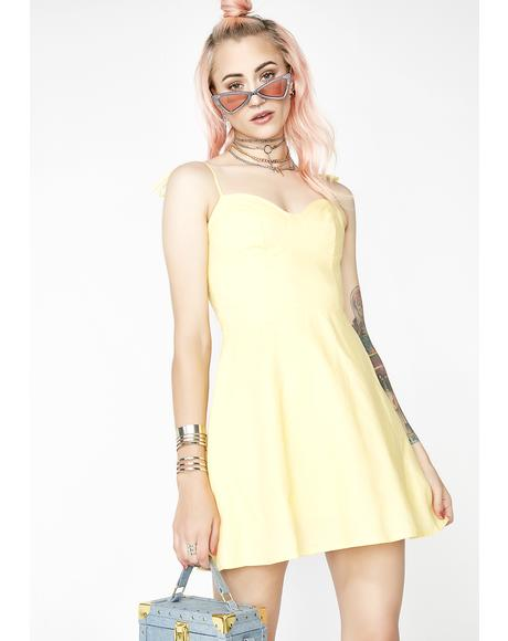 Mellow Daze Bustier Dress