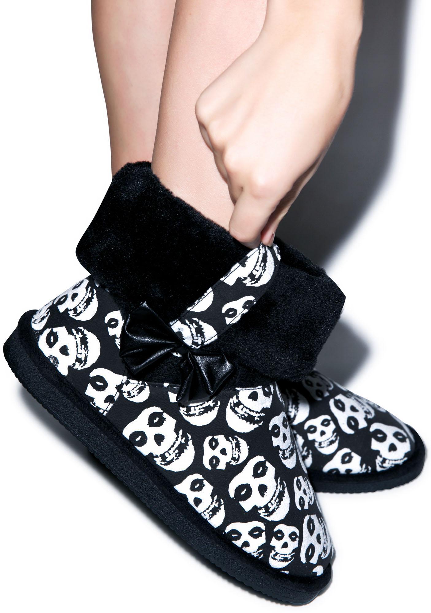 Iron Fist Misfits Fiend Skull Fugly Boot