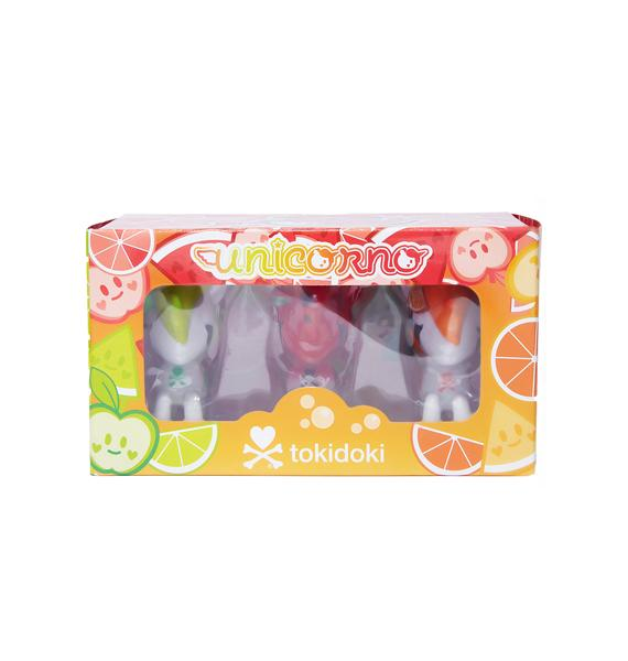 Tokidoki Unicorno Fruit 3 Pack