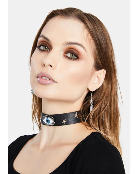 Had A Vision Eye Choker