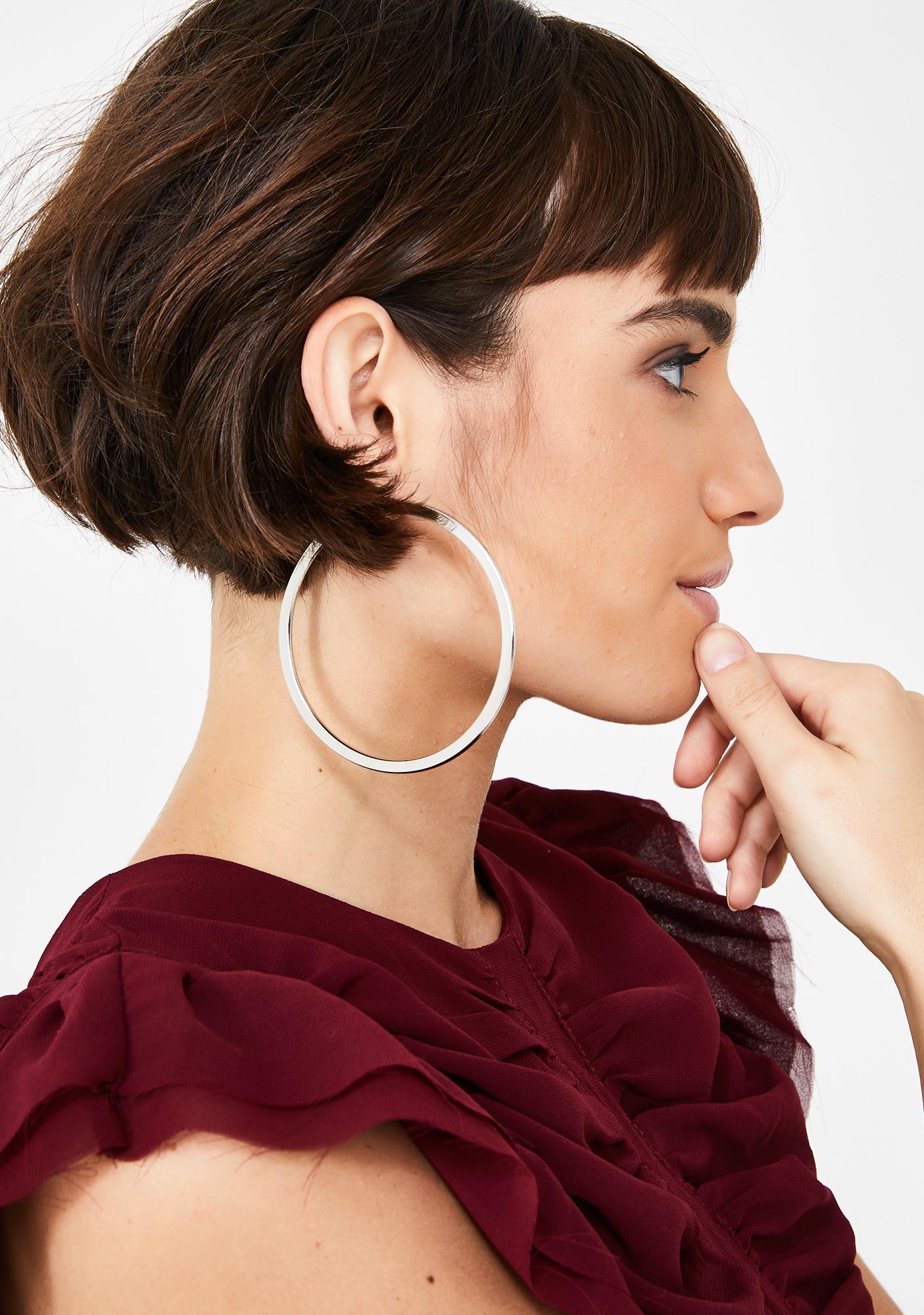 Shook Let It Ring Hoop Earrings