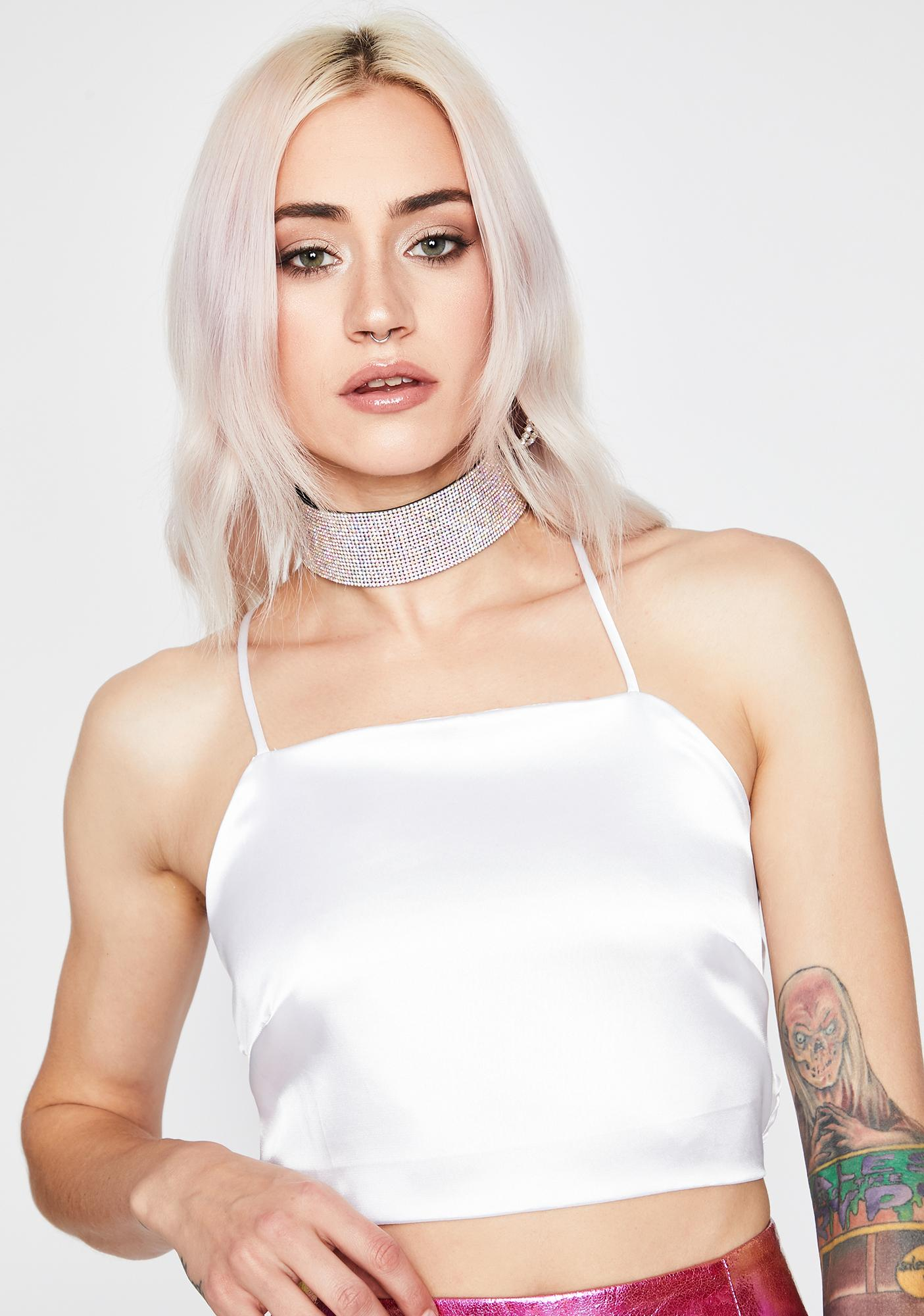 Pure Love Potion Lace Up Crop Top