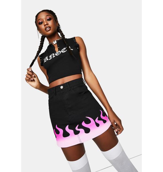 Cute Mistake Cute But Psycho Mini Skirt
