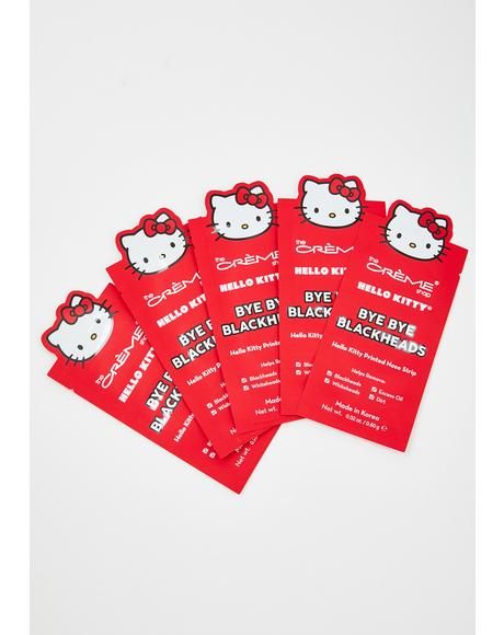 Hello Kitty Bye Bye Blackhead Nose Strips