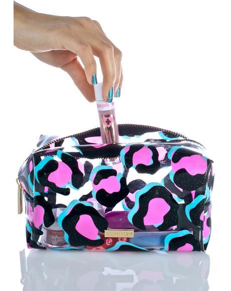 Leopard Makeup Bag