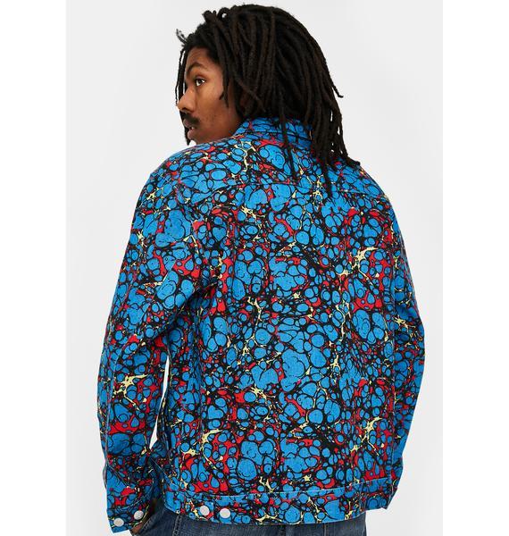 Obey Botch Denim Jacket